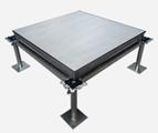 铝合jingao架地板