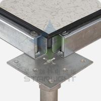 全钢防静电活动地板zu装图